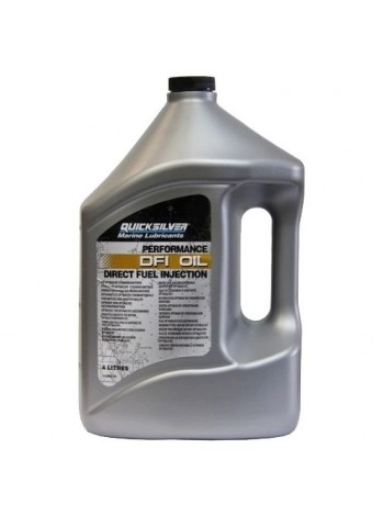 Масло Quicksilver 2-cycle OptiMax / DFI outboard oil 4 л