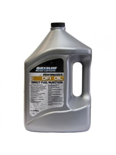 Масло Quicksilver 2-cycle OptiMax / DFI outboard oil (2хтактное) 4 л