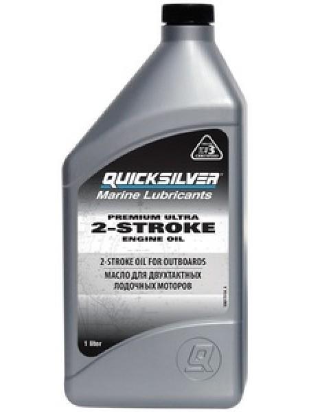 Масло Quicksilver двухтактное Premium Ultra TC-W3 (2хтактное) - 1 л