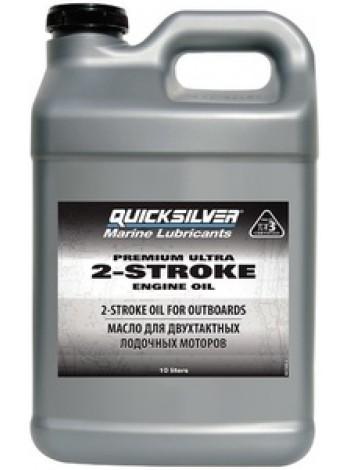 Масло Quicksilver двухтактное Premium Ultra TC-W3 (2хтактное) - 10 л