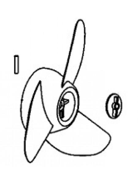 Винт гребной PROP KIT-3.5 TAPER