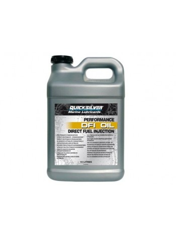 Масло Quicksilver 2-cycle OptiMax / DFI outboard oil (2хтактное) 10 л