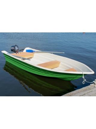 Стеклопластиковая моторная лодка ВИЗА Легант-425