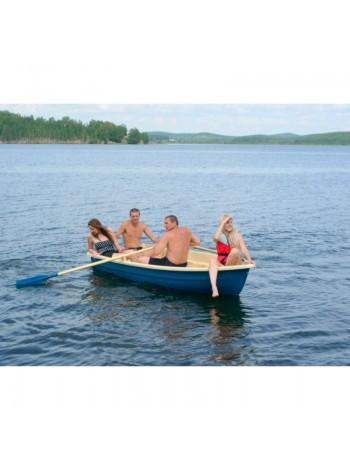 Пластиковая лодка Тортилла-4 с Рундуками