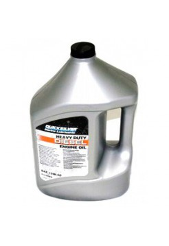 Масло Quicksilver 4-cycle diesel 25W-40 oil 4 л