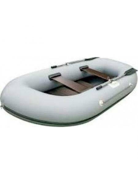 Лодка Дельфин 2+ трехместный с транцем