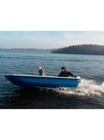 Пластиковая лодка Легант-390 Моторка