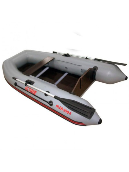 Моторно-гребная лодка Alfa-250 K (с килем)