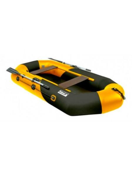 Лодка Пеликан 268 Bill (желто-черная)