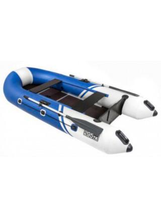 Лодка Пеликан 295ТК River (синий/белый)
