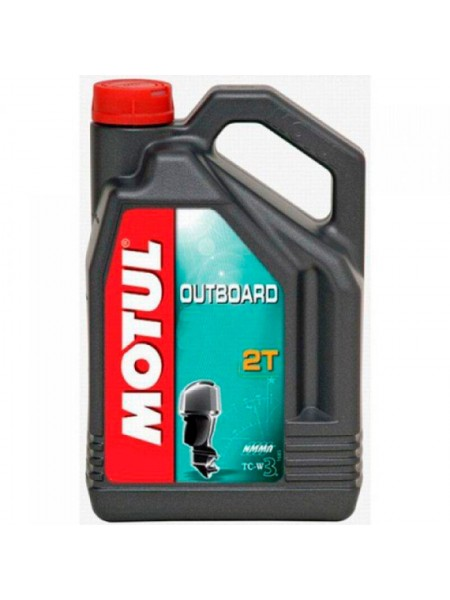 Масло Motul Outboard 2T, 5 л