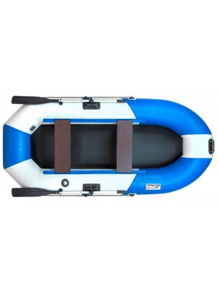 Лодка Пеликан 270 River (синий/белый)