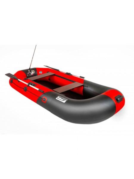 Лодка Пеликан 270 River (черный/красный)