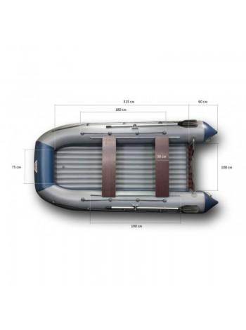 Лодка Флагман 420К