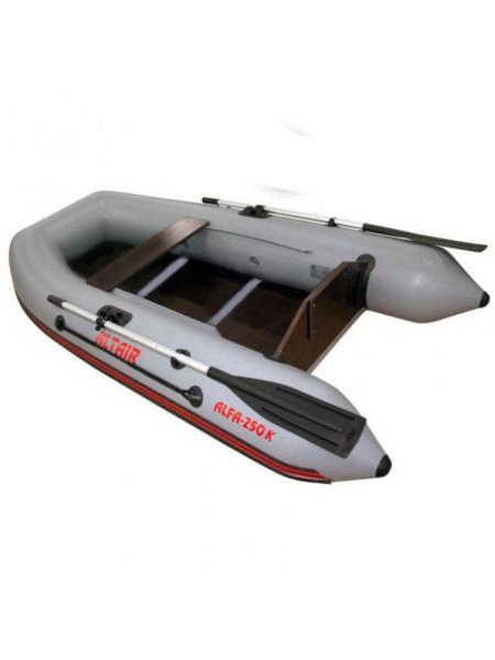 Моторно-гребная лодка Alfa-250 K (с килем и бортовым привалом)