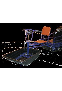 Мотобуксировщик толкач / модуль
