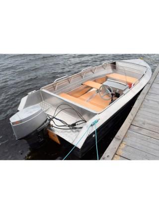 Лодка Алюмакс-435 Комбинированный Консоль