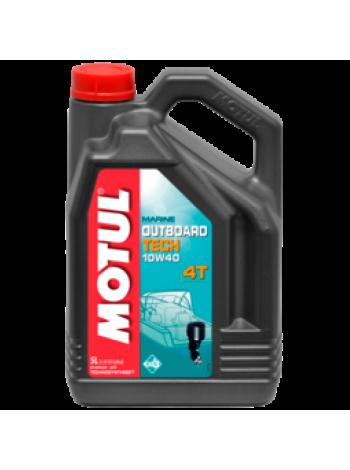 Масло Motul Outboard Tech 4T 10W40, 5 л