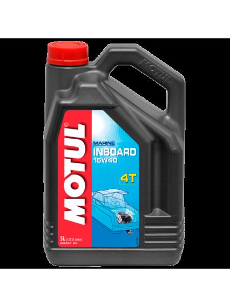 Масло Motul Inboard 4T 15W 40, 5 л