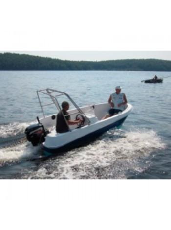 Пластиковая лодка Легант-350 Консоль